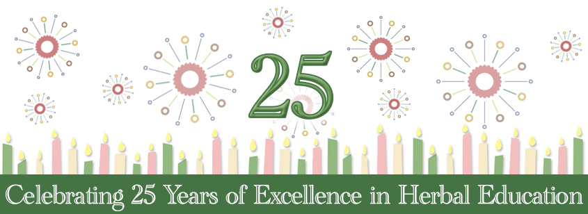 Celebrating 25 Years of Excellence in Herbal Education