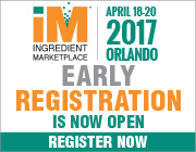 Ingredient Marketplace Early Registration