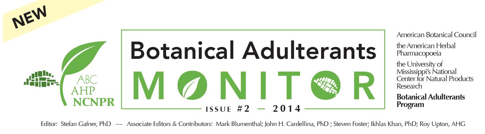 Botanical Adulterants Monitor Issue 2