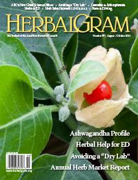 HerbalGram 99 Cover