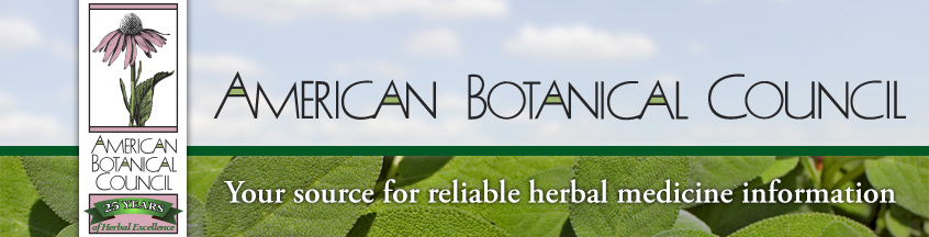 American Botanical Council - 25 Years of Herbal Excellence