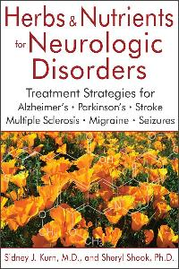 Herbs and Nutrients for Neurologic Disorders Cover