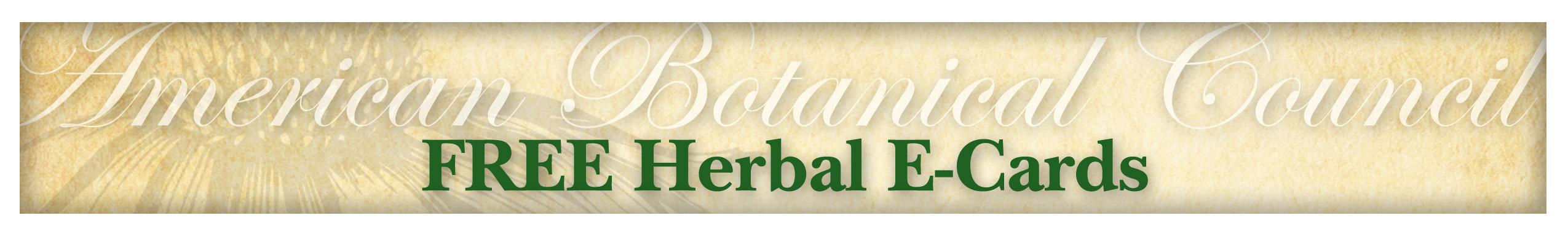 Ecard page american botanical council kristyandbryce Gallery